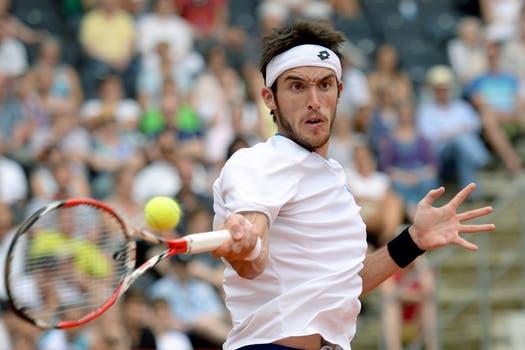 Leo Mayer le ganó a David Ferrer y se quedó con el título de Hamburgo. Foto: AP