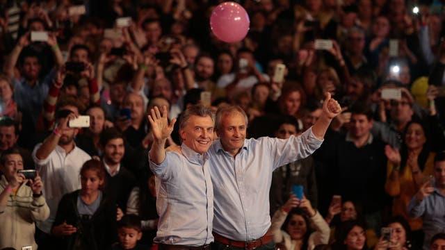 Mauricio Macri cierra la campaña