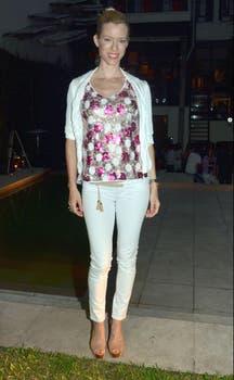 Nicole Neumann, otra modelo en el evento de Sweet. ¿Prefieren su estilo o el de Liz?. Foto: Amado Group