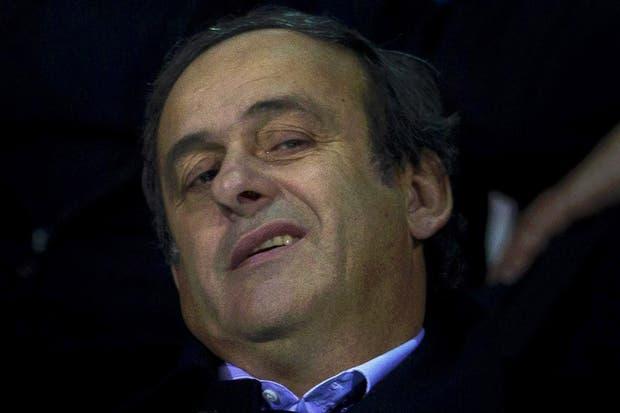 Platini está convencido que va a ganar.  /AP, AFP, EFE, Reuters