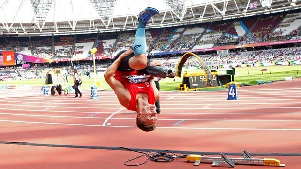 Mundial de Paratletismo en Londres. Foto: Reuters