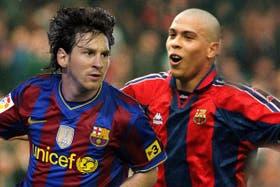 Lío, a punto de superar a Ronaldo