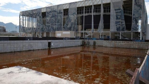 Así están partes de las instalaciones de los Juegos Olímpicos 2016