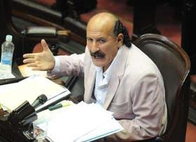 El diputado Yoma durante su intervención en Diputados
