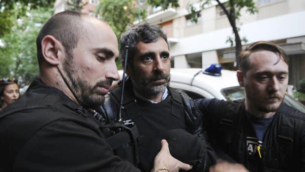 Roberto Baratta es detenido