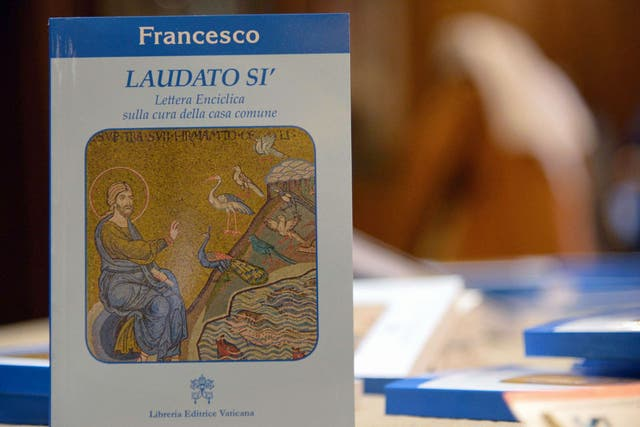 Laudato si, la primera encíclica realizada completamente por el papa Francisco
