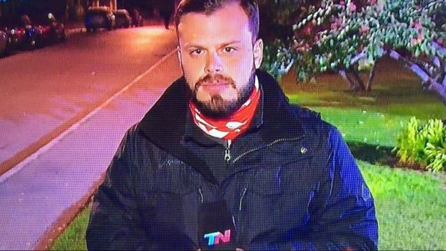 Ignacio Otero, mejor cronista/movilero