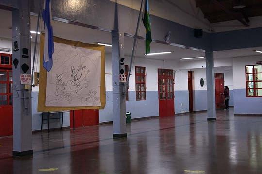 La escuela busca superar el trágico evento anclando a los chicos a la vida. Foto: LA NACION / Matías Aimar