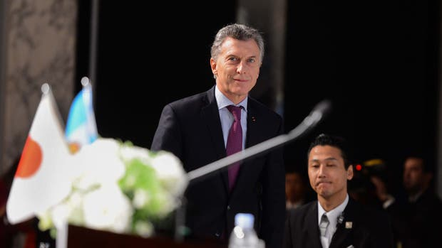 El presidente Mauricio Macri expuso esta mañana en el Foro Económico Japón - Argentina que se realizó en el Hotel The Prince Park Tower Tokyo
