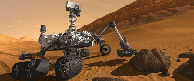 Curiosity cuenta con diez instrumentos para analizar el suelo marciano y determinar la existencia de vida en la actualidad o el pasado de Marte
