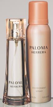 Paloma Herrera EDP de 60 ml y desodorante. Foto: Silvio Zuccheri