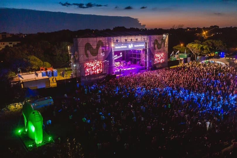 Con Airbag y Banda de Turistas como artistas centrales, el sábado, el festival se convirtió uno de los eventos más convocantes del verano
