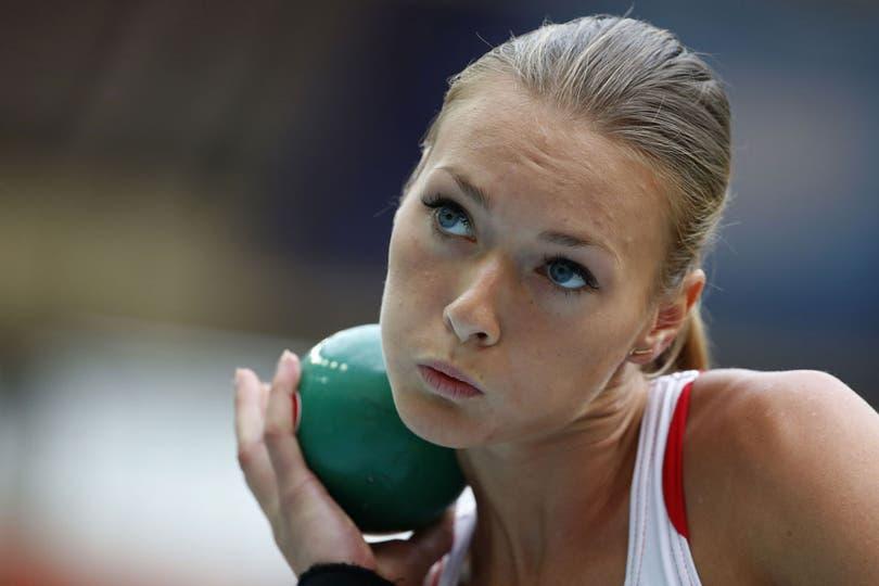 La letona tiene 21 años y compite en el heptatlón.  Fue dos veces campeona mundial juvenil y dos europea, en la misma categoría. Su primera participación olímpica fue en Londres 2012. Foto: Reuters