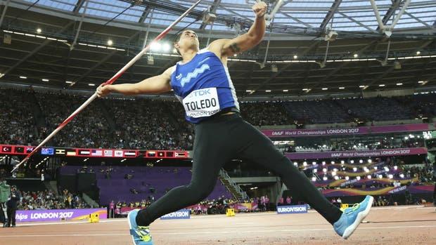 Toledo, en el estadio olímpico de Londres