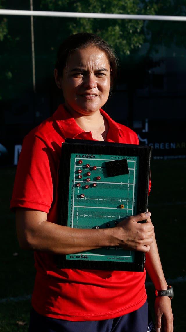 La profe Priscila Álvarez