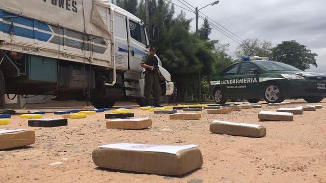 Salta: casi 70 kilos de cocaína se incautaron en un camión