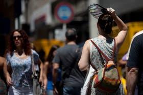 La Ciudad registro la térmica más alta dentro de la ola de calor que vive en diciembre