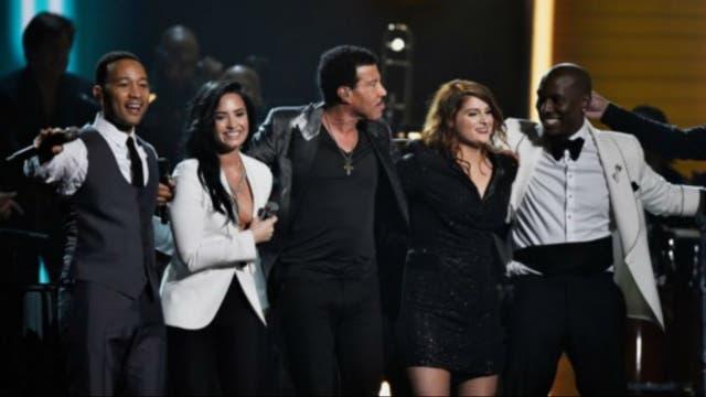 Lionel Richie y el cuarteto que le rindió tributo con justicia