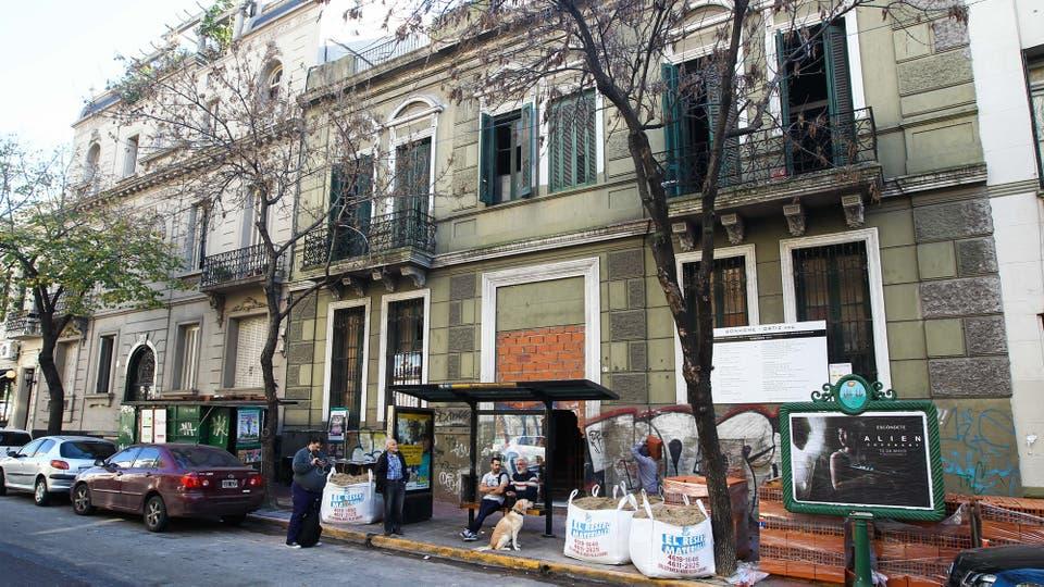 Los viejos edificios están siendo remodelados. Foto: LA NACION / Mauro Alfieri