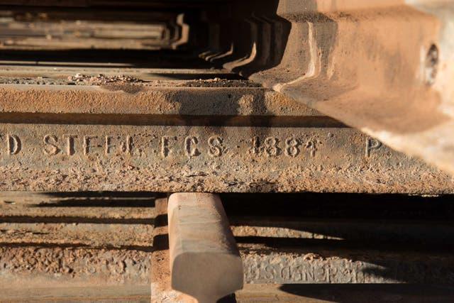 Una vía olvidada desde 1884 en las alturas de la puna salteña. Fotos: Soledad Gil