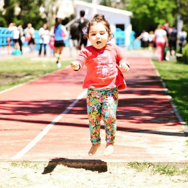 .Alma Robledo aprendiendo a volar