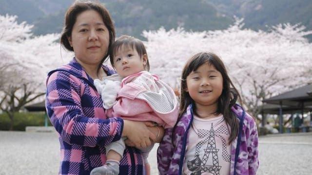 Cristina Hatori tuvo dos cesáreas en Japón y se quedó con una cicatriz vertical.