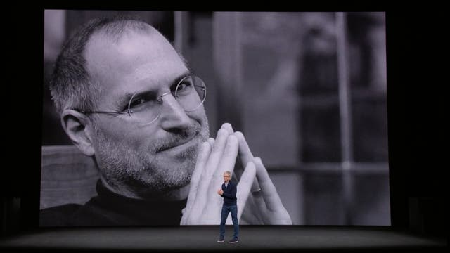 Tim Cook en la inauguración del Steve Jobs Theater