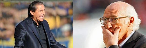 Ramón y Bianchi en River y Boca; ambos equipos vieron desfilar seis técnicos