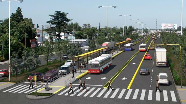 Resultado de imagen para Metrobus La Matanza