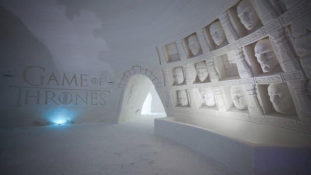 El hotel Game of Thrones está ubicado 200 km al norte del Círculo Ártico, en Finlandia
