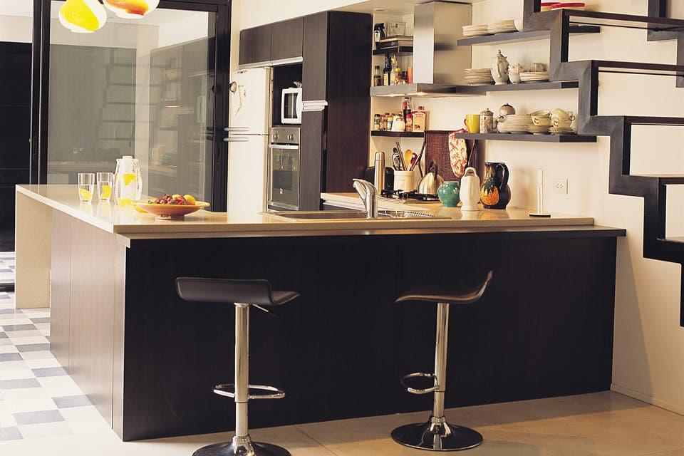 Solución 224: Una propuesta para renovar un living con cocina integrada