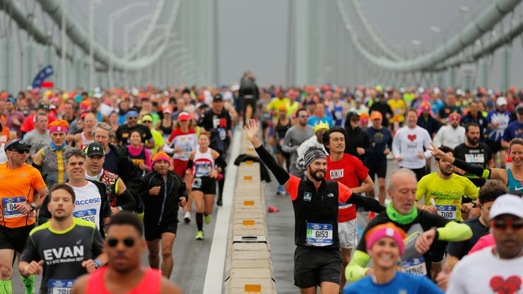 La Maratón de Nueva York convoca a más de 50 mil personas de 129 países