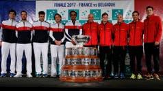 Francia y Bélgica se disputan el trono de Argentina en la Copa Davis desde este viernes