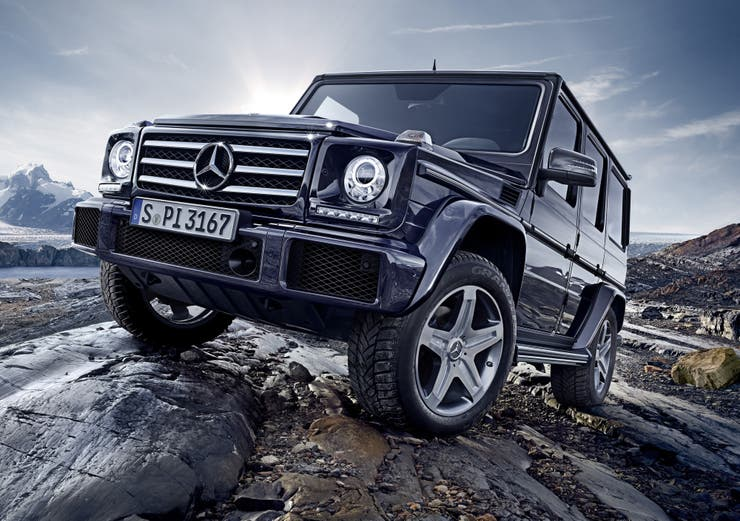 El Mercedes-Benz G500