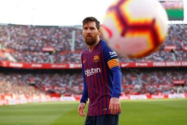 Messi y el idilio de siempre con la pelota