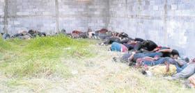 Los cadáveres de los 72 indocumentados asesinados por los narcotraficantes en Tamaulipas