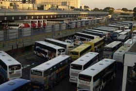 Imagen de archivo de la terminal de Retiro