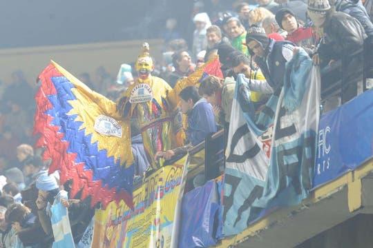 Los colombianos festejaron. Foto: AFP