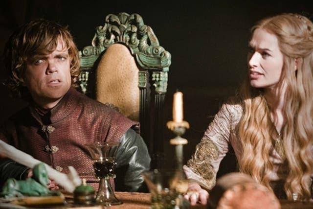 Lena Heady (Cersei) y Peter Dinklage hacen de hermanos en la serie
