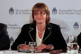 La Procuradora General Gils Carbó