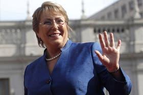 Bachelet apunta a un segundo mandato
