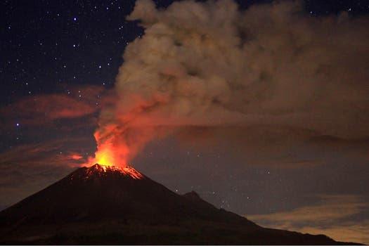 Está a 60 km de DF; todavía no hubo evacuados. Foto: Reuters