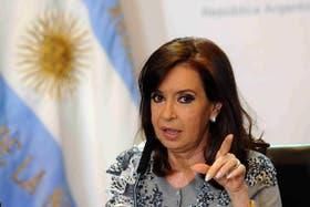 Cristina Kirchner aludió al episodio con el carterista en cadena nacional