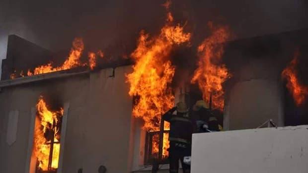 El incendio en la Cámara Criminal de Río Gallegos