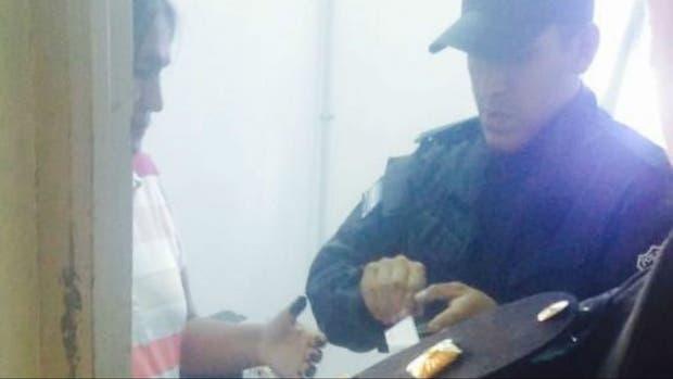 Milagro Sala, este mediodía, detenida por la policía de Jujuy