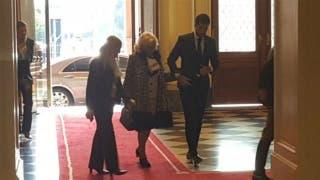 La intimidad de la visita de Mirtha Legrand a la Casa Rosada