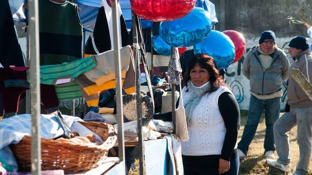 Barrios de Pie tiene una feria de microemprendedores en González Catán