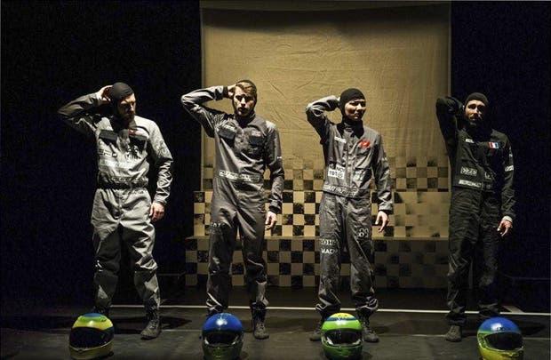 Bailarines y pilotos de Fórmula 1, según amerite