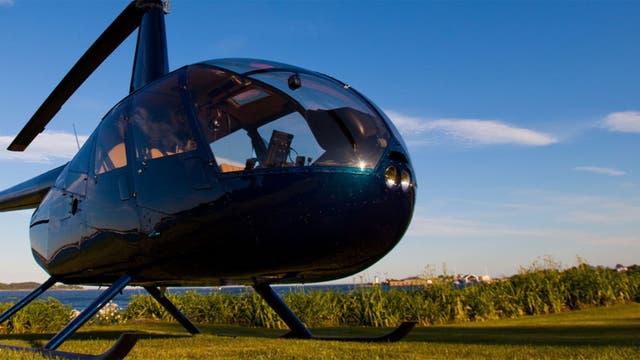 Uno de los helicópteros que ofrece Únicos Air