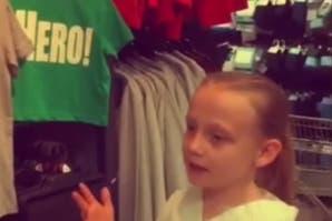 La niña de 8 años que se pregunta por qué hay tantas diferencias entre ropa de varones y mujeres
